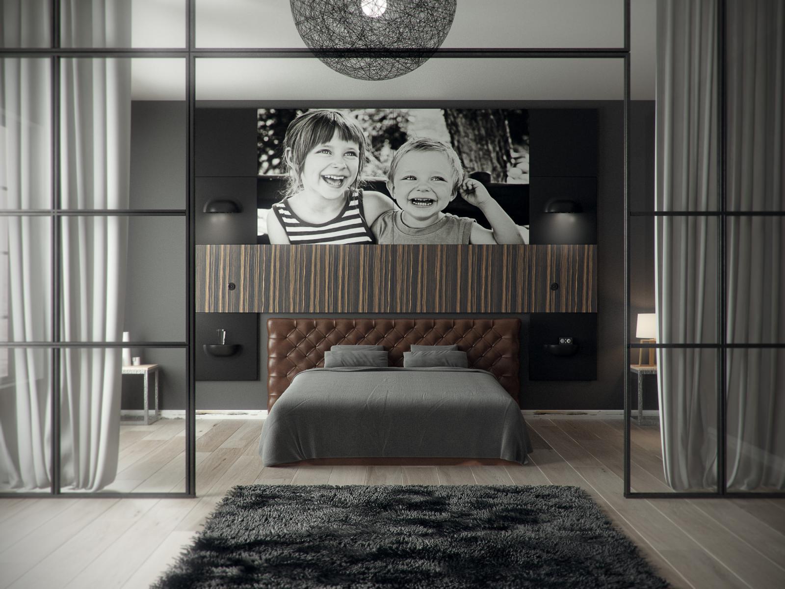 Slaapkamer Hotelsfeer. Photos Of The Modern Huis Taupe Muur ...
